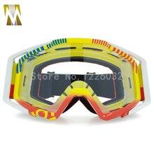 Новинка; модный стиль мотоцикл Спорт Гонки Off Road Очки мотокросса Eyewears для Байк взрослых Гибкая очки