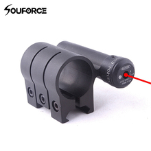 Promo offer Tratical Red Laser with Mount Pointer 630-680nm Laser Sight for Gun Rifle Weaver Mount Rail Hunting Rifle Scope