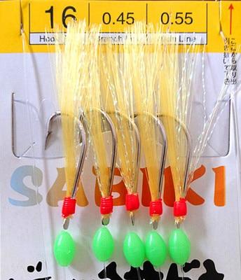 rig color herring hooks