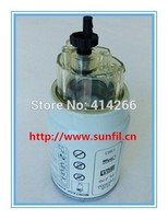 High Quality Diesel Engine PL270 Cup Fuel Water Separator Filter FS19907 KAMAZ Truck 5PCS LOT FREE