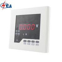 DV21 DC auto voltmeter single phase digital wholesale mini voltage meter panel size 120*120mm