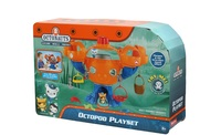 Free shipping 1 set of Chinese Edition original Octonauts Oktopod Splelset figure toy with original box child Toys