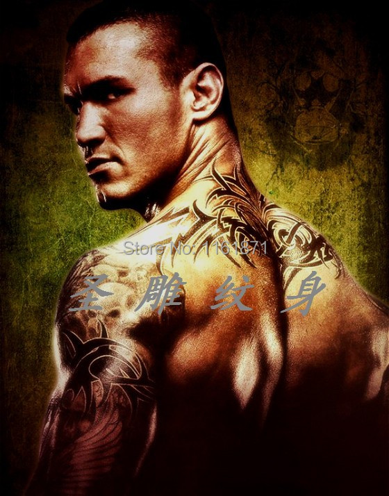 Randy Orton Tattoos Arms