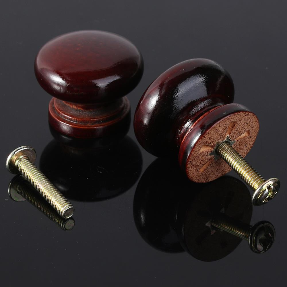 10PCS/Set Wood Door Drawer Pull Knob Dresser Handle