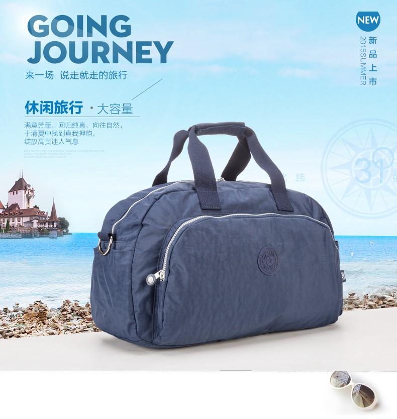 Men Women Outdoor Casual Gym Sport Travel Duffel Bag Waterproof Large Capacity Leisure Crossbody Shoulder Tote Travel Bags (1)
