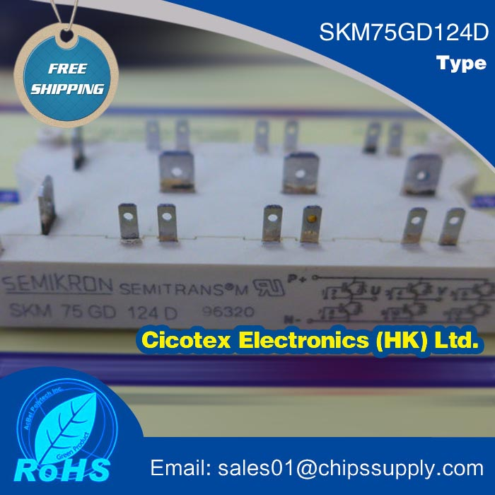 SKM75GD124D MODULE SEMITRANS IGBT Modules New Range SKM 75 GD 124DSKM75GD124D MODULE SEMITRANS IGBT Modules New Range SKM 75 GD 124D
