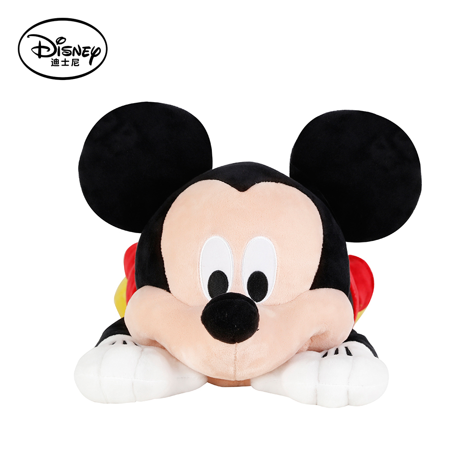 ФОТО Disney Multifunctional Micky Mouse Plush Stuffed Toys Peluches Doll Pillow Cushion Portable Kid Rest Warm Blanket Christmas Gift