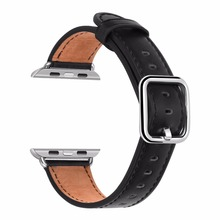 Apple 38mm Women 42mm Genuine Leather Replacement Wrist Strap