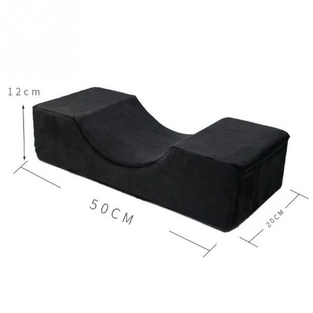 Quality Memory Foam Pillow Professional Eyelash Extension Pillow Special Flannel Salon Pillow Stand Grafted For Eyelash -Storage 4
