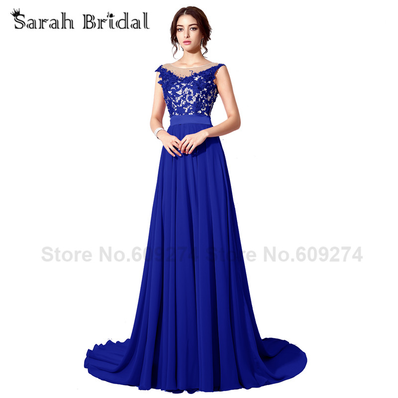 Plus Size Long Prom Dresses Cap Sleeves