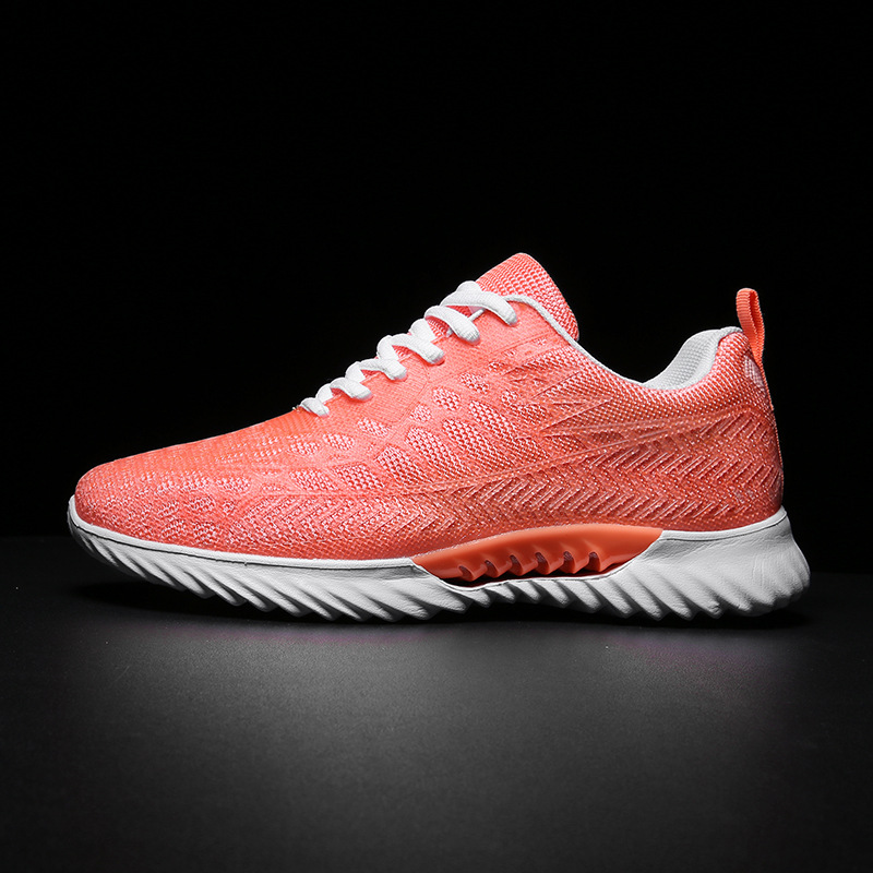 2019 Men's Tide Shoes Summer New Casual Women's Shoes Korean Mesh Breathable Running Shoes Large Size Sports Shoes(China)