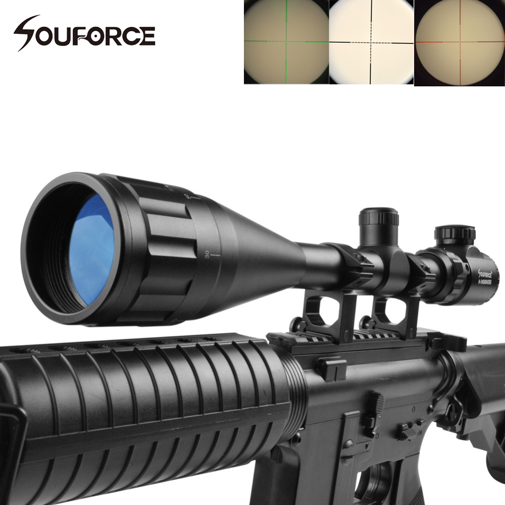 Tactical Optics Riflescope 6-24X50 AOEG Green Red Mil Dot Illuminated Fit 20mm Weaver Rail Hunting Riflescopes combo 6 24x50 aoeg riflescopes green red dot