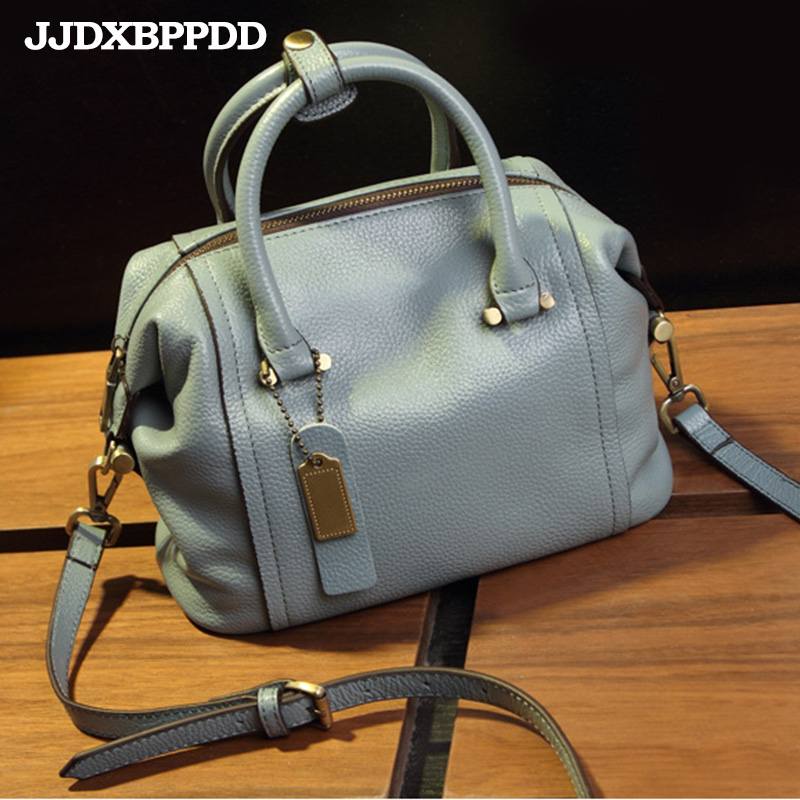 JJDXBPPDD Fashion Vintage Women's Handbags Genuine Leather Brand Candy Shoulder Bags Ladies Totes Crossbody Women Messenger Bag