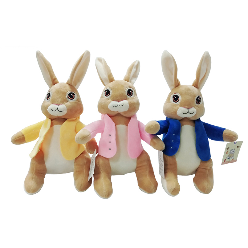 Children Gifts 27cm Movie Cartoon Peter Rabbit Plush Dolls Appease Infants Stuffed Toys Soft and Lovely Plush Animals Kids Toy toys for children dolls girls plush snorlax model birthday gifts cross stitch knuffel doudou stuffed animals soft toy 70a0513
