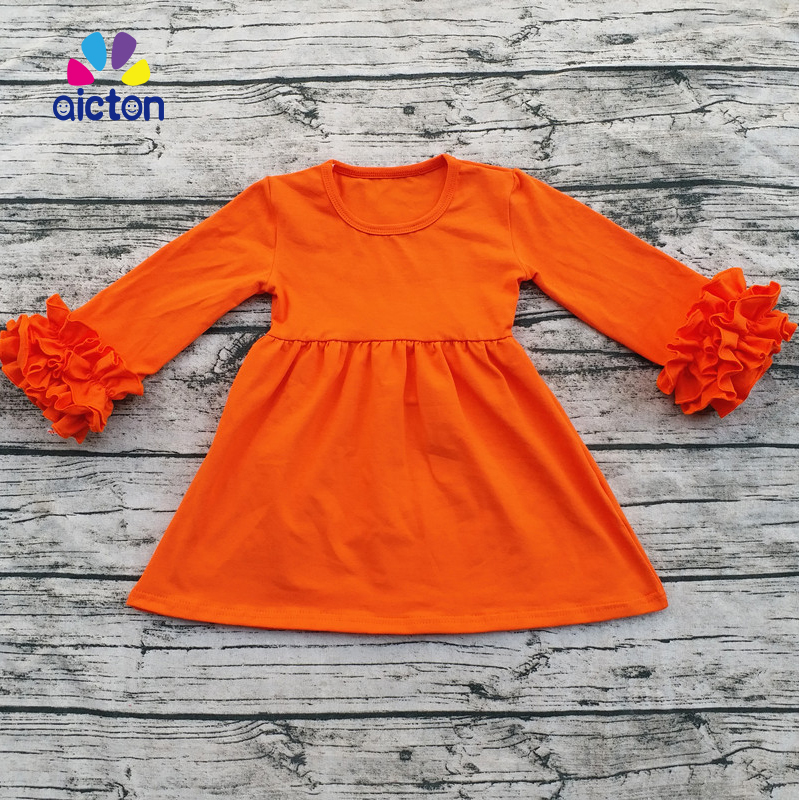 6d6d51ca3d8f6 Aicton ruffle baby clothes fall Winter Thanksgiving boutique baby clothes  turkey wholesale children clothes set-in Clothing Sets from Mother   Kids  on ...