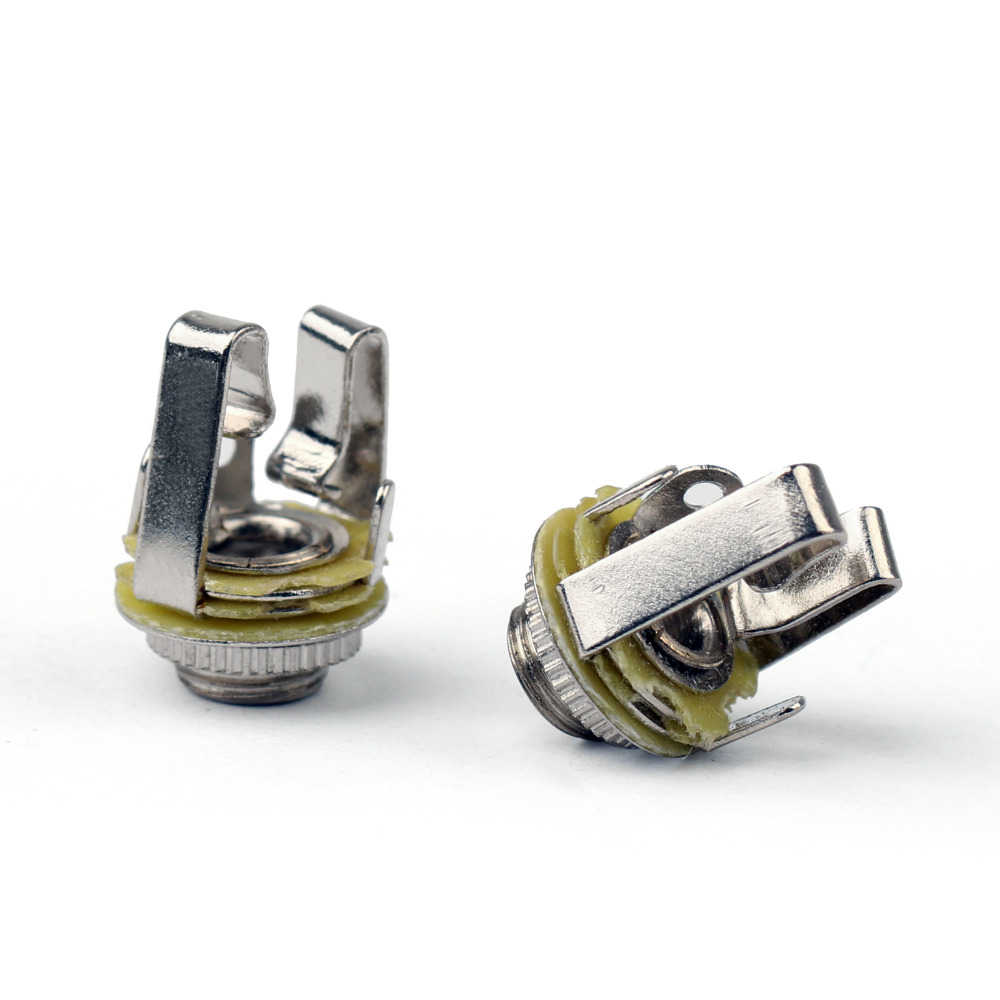 цена на Areyourshop 3.5mm Stereo Socket Jack Plug Female Connector Panel Mount Solder For Headphone 10PCS Wholesale Connector