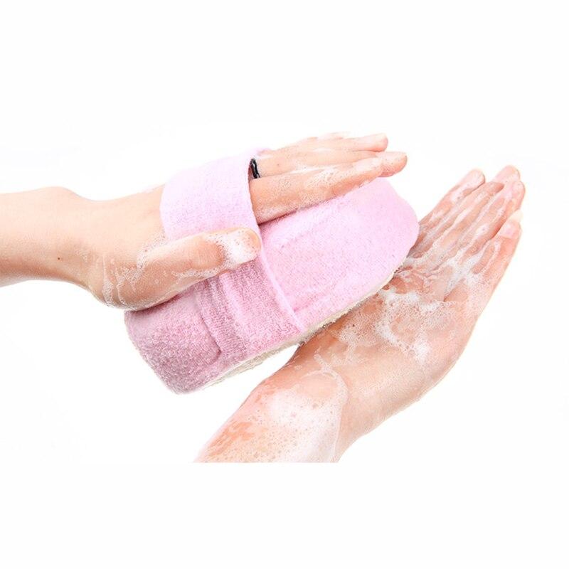 Bath Brushes Shower Products Natural Sponge Exfoliating Shower Brush Comfortable Soft Body Massage Brush Skin Cleaning Tool