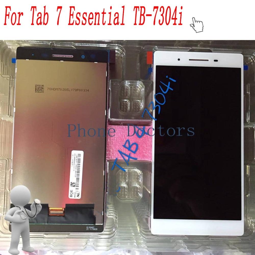 7.0 inch LCD DIsplay + Touch Screen Digitizer Assembly For Lenovo Tab 7 Essential TB-7304i Tab 4 TB-7304i TB 7304I 10 1inch lcd with touch panel 1920x1200 for lenovo tab 4 tb x704l lcd display touch screen digitizer assembly