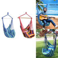 Outdoor Garden Hammock Chair New Hammocks Hanging Chair Swing Chair Seat With 2 Pillows For Indoor Outdoor Garden Chairs Hammock