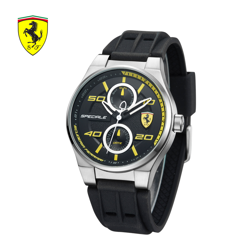 ferrari watches pid fxa men race s day watch yellow us