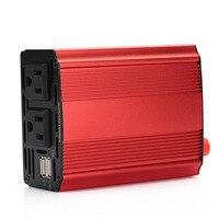 Vehemo 600W Dual USB Auto Car Power Inverter Converter Transformer 60Hz 12V DC To AC 110V
