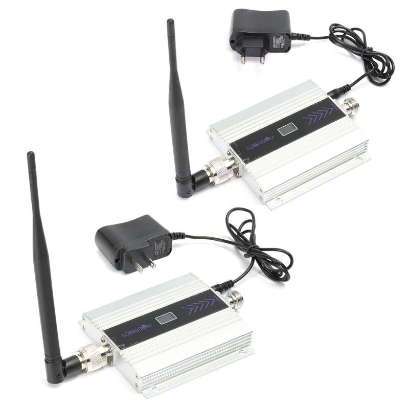2G GSM 900 mhz LCD amplificateur de Signal de téléphone portable Wifi répéteur sans fil amplificateur Kit antenne avec ventouse Base 10 m câble EU/US prise