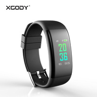XGODY DB11 Smart Bracelet Fitness Tracker for iOS Android Pedometer Blood Pressure Heart Rate Monitor Smart Wristband Waterproof