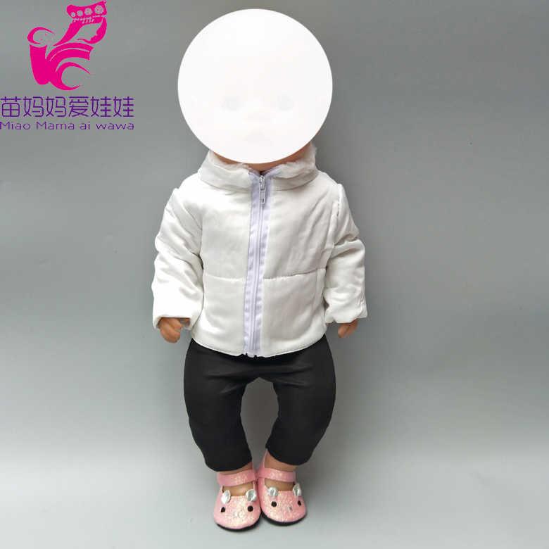 Одежда для 18-дюймовая кукла, пуховик, одежда для детей 18 лет, кукла для новорожденных, аксессуары для кукол, подарки для маленьких девочек