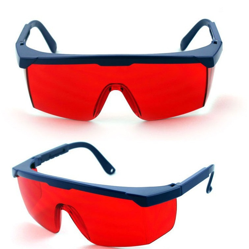 1Pcs Protection Goggles Laser Safety Glasses Green Blue Red Eye Spectacles Protective Eyewear Green Color Laser