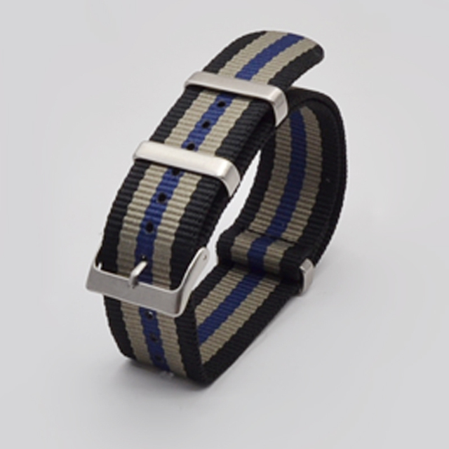 Fashion Nylon Watchband Nato Strap G10 for Omega for IWC Sports Watchstrap 007 for Seiko Colorful Bracelet 19mm 20mm 21mm 22mm | Watchbands