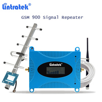 lintratek gsm signal booster repeater gsm 900mhz mobile phone amplificador gsm cellular booster LCD display amplifier 900 S45