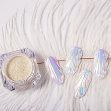 Top Quality Chameleon Mermaid Mirror Nail Powder Neon Glitter Dust Chrome Pigment DIY Manicure Decoration