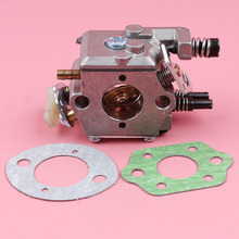 Carburetor with Gaskets For Husqvarna 51 55 Walbro WT-170-1 WT-170 Chainsaw Spare Parts