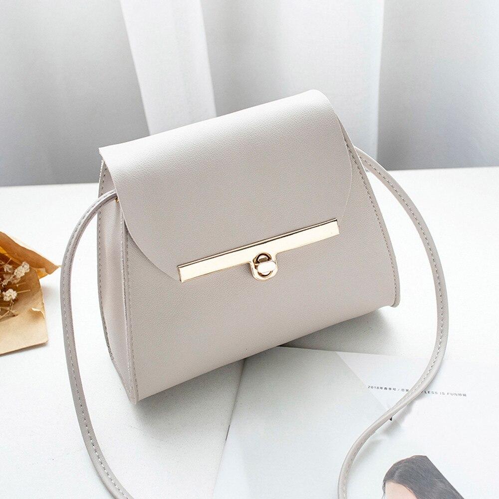 Messenger-Bags Elegant Fashion Women Pu N15 Bolsos Candy-Colors Mujer