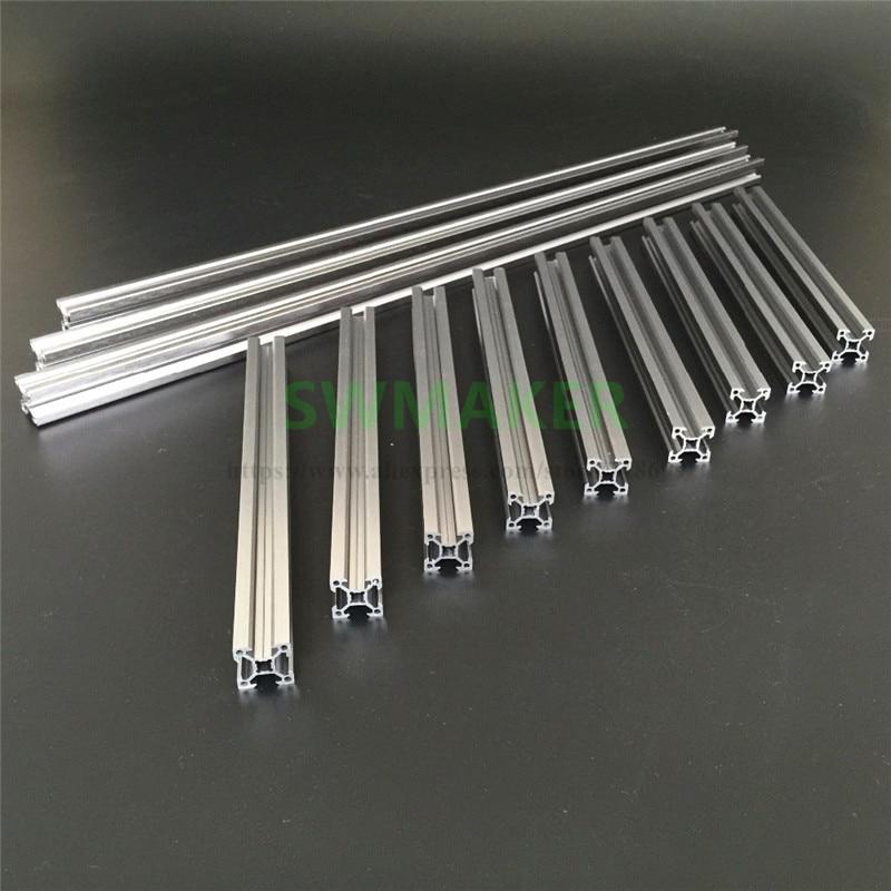Kossel Delta Reprap 3D Printer Aluminum Extrusion Kit 2020 Aluminum Profile silver anodi ...