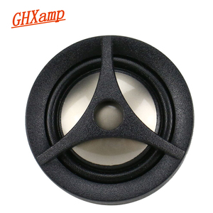 Image 4 - Ghxamp 1 인치 돔 자동차 수정 된 고음 홈 스피커 트위터 티타늄 필름 4ohm 15 w 2 pcs