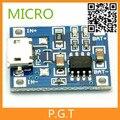 1 шт. Бесплатная доставка MICRO Порт НОВЫЙ Стандарт TP4056 1A Литиевая Батарея Зарядка Бортового Зарядного устройства Модуль Бесплатный Dropshipping