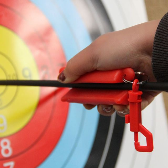 YINUO Bow and arrow archery with silicone pull arrow hand gel stick