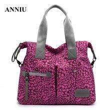 famous brand new Women Handbag Large Capacity Messenger Bags Nylon Waterproof Vintage Crossbody Shoulder Bag bolso mujer