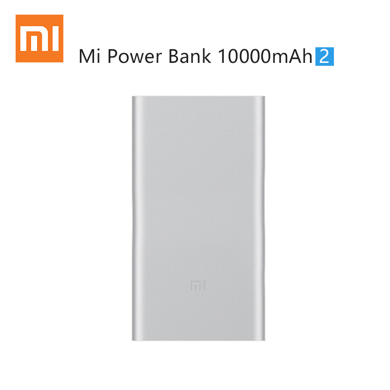 Xiaomi Power Bank 10000mAh 2rd Mobile Backup Powerbank 10000mAh Quick Charge 2.0 Bateria Externa Universal Charger for Cellphone
