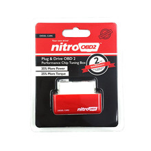 New NitroOBD2 Diesel Cars Chip Tuning Box Plug and Drive Nitro OBD2 Interface More Power and More Torque