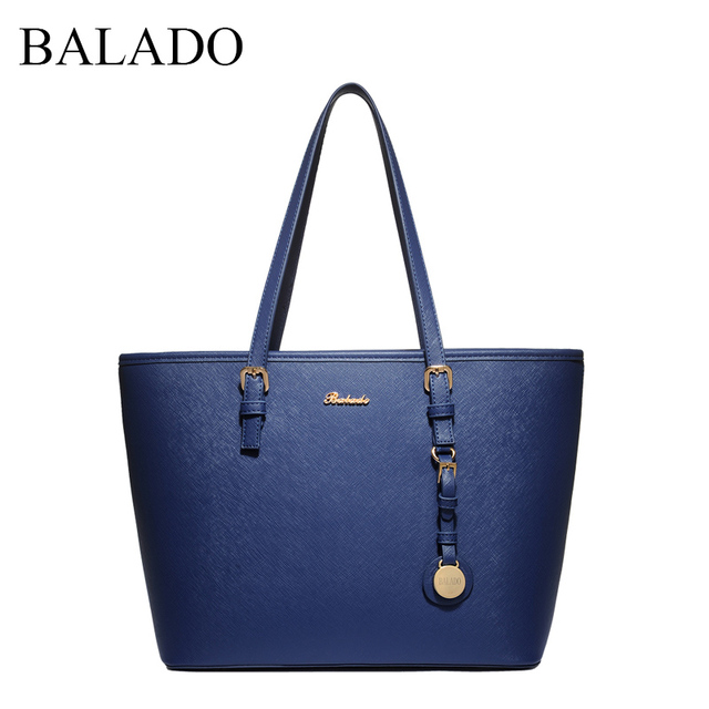 Factory Outlet Balado 2017 New Fashion Design Simple Shoulder Handbags Pure Pu Messenger Bag Large Capacity