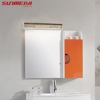 โมเดิร์นไฟ LED กระจกเงา 0.4 M ~ 1.2 M โคมไฟติดผนังห้องนอน headboard wall sconce lampe deco Anti - หมอก espelho ในห้องน้ำ