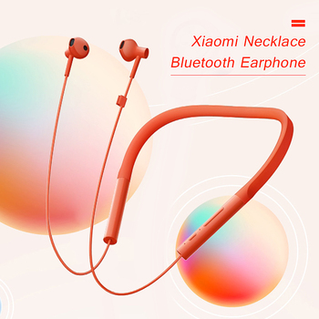 Xiaomi Necklace Bluetooth Earphone Wireless Earbuds  Sport Gaming Headset with Mic and In-line Control Young Version