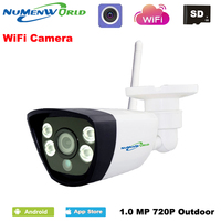 Wireless IPCAM 720P HD P2P ONVIF 802 11b G N Wifi Network Wired IP Camera IR