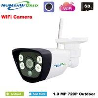 Wireless IPCAM 720P HD P2P ONVIF 802 11b G N Wifi Network Wired IP Camera IR