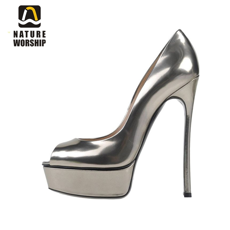 Women shoes high heel for summer slip on sandals stiletto platform shoes womens high heel peep toe shoes big size sandals pumps nayiduyun women genuine leather wedge high heel pumps platform creepers round toe slip on casual shoes boots wedge sneakers