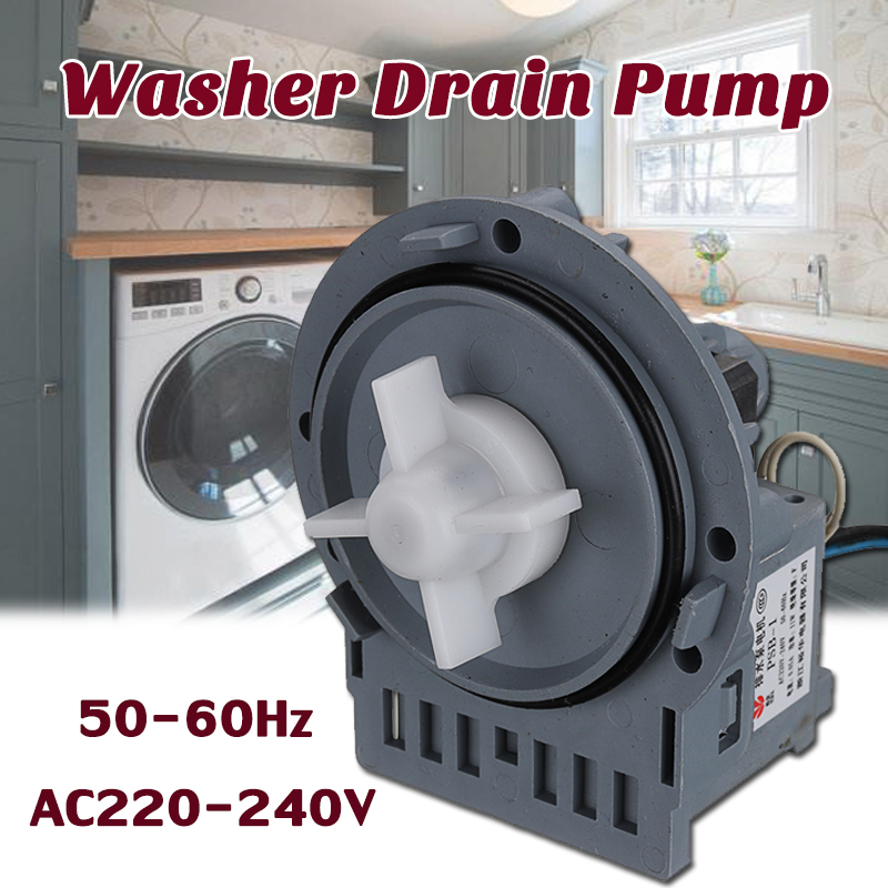general 220V 11W Washer Drain Pump Motor Assembly For Washing Machine Household Accessory automatic washing machine tractor xpq 6c2 of tcl whirlpool lg samsung original washer drain valve motor