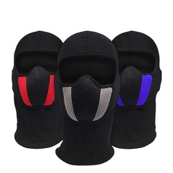 Przeciwpyłowe maski rowerowe z pałąkiem na głowę zimowy odkryty bieganie szyi cieplej rower maska na twarz do jazdy motocyklem szalik na głowę kominiarka Bandana