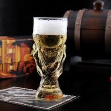 Kreative Glas Tasse Bar Kristall Wasser Whisky Wein Trinken Den Fußball-weltmeisterschaft Design Glas Wein Bier Tasse 300 ml